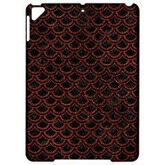 Scales2 Black Marble & Reddish Brown Leather (r) Apple Ipad Pro 9 7   Hardshell Case by trendistuff