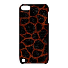 Skin1 Black Marble & Reddish Brown Leather Apple Ipod Touch 5 Hardshell Case With Stand by trendistuff