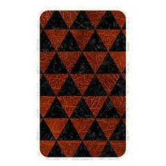 Triangle3 Black Marble & Reddish Brown Leather Memory Card Reader by trendistuff
