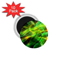 Abstract Shiny Night Lights 1 1 75  Magnets (10 Pack)  by tarastyle