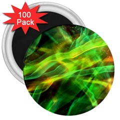 Abstract Shiny Night Lights 1 3  Magnets (100 Pack) by tarastyle
