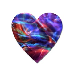 Abstract Shiny Night Lights 2 Heart Magnet by tarastyle