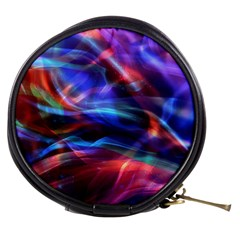 Abstract Shiny Night Lights 2 Mini Makeup Bags by tarastyle