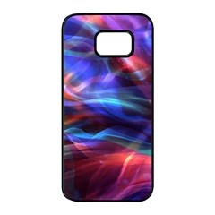 Abstract Shiny Night Lights 2 Samsung Galaxy S7 Edge Black Seamless Case by tarastyle