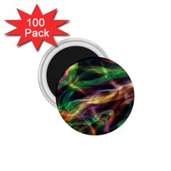 Abstract Shiny Night Lights 3 1 75  Magnets (100 Pack)  by tarastyle