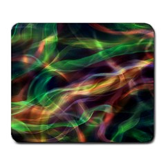 Abstract Shiny Night Lights 3 Large Mousepads by tarastyle