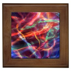 Abstract Shiny Night Lights 4 Framed Tiles by tarastyle