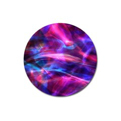Abstract Shiny Night Lights 5 Magnet 3  (round) by tarastyle