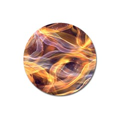 Abstract Shiny Night Lights 6 Magnet 3  (round) by tarastyle