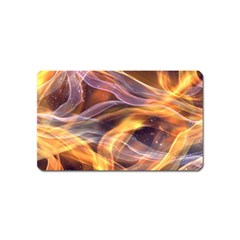 Abstract Shiny Night Lights 6 Magnet (name Card) by tarastyle