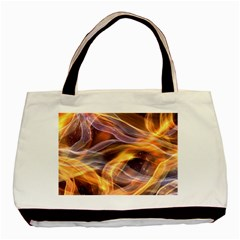 Abstract Shiny Night Lights 6 Basic Tote Bag by tarastyle