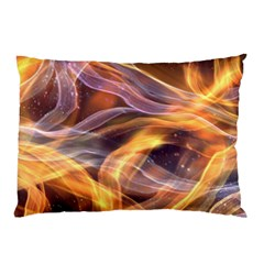 Abstract Shiny Night Lights 6 Pillow Case by tarastyle