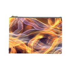 Abstract Shiny Night Lights 6 Cosmetic Bag (large)  by tarastyle