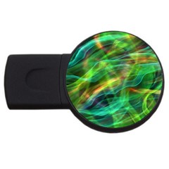 Abstract Shiny Night Lights 8 Usb Flash Drive Round (4 Gb) by tarastyle