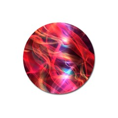 Abstract Shiny Night Lights 9 Magnet 3  (round) by tarastyle