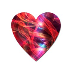 Abstract Shiny Night Lights 9 Heart Magnet by tarastyle
