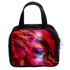 Abstract Shiny Night Lights 9 Classic Handbags (2 Sides) by tarastyle