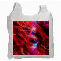 Abstract Shiny Night Lights 9 Recycle Bag (one Side) by tarastyle