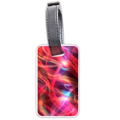 Abstract Shiny Night Lights 9 Luggage Tags (two Sides) by tarastyle