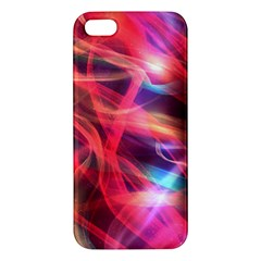 Abstract Shiny Night Lights 9 Apple Iphone 5 Premium Hardshell Case by tarastyle