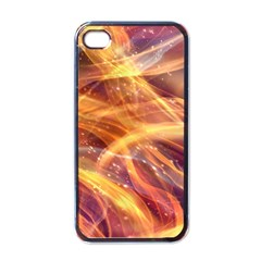 Abstract Shiny Night Lights 10 Apple Iphone 4 Case (black) by tarastyle