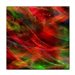 Abstract Shiny Night Lights 12 Face Towel by tarastyle