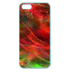 Abstract Shiny Night Lights 12 Apple Seamless Iphone 5 Case (color) by tarastyle