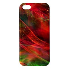 Abstract Shiny Night Lights 12 Apple Iphone 5 Premium Hardshell Case by tarastyle
