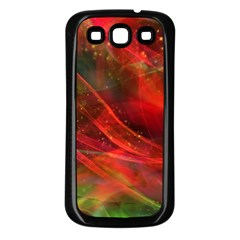 Abstract Shiny Night Lights 12 Samsung Galaxy S3 Back Case (black) by tarastyle