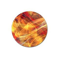 Abstract Shiny Night Lights 13 Magnet 3  (round) by tarastyle