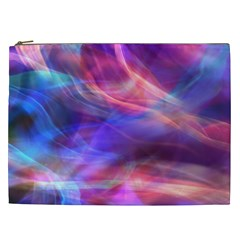 Abstract Shiny Night Lights 14 Cosmetic Bag (xxl)  by tarastyle
