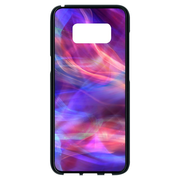 Abstract Shiny Night Lights 14 Samsung Galaxy S8 Black Seamless Case