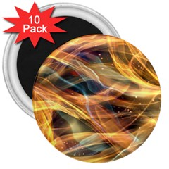 Abstract Shiny Night Lights 15 3  Magnets (10 Pack)  by tarastyle