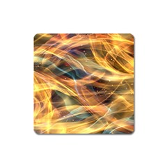 Abstract Shiny Night Lights 15 Square Magnet by tarastyle