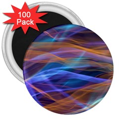 Abstract Shiny Night Lights 16 3  Magnets (100 Pack) by tarastyle