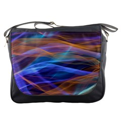 Abstract Shiny Night Lights 16 Messenger Bags by tarastyle