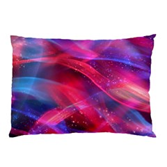 Abstract Shiny Night Lights 18 Pillow Case by tarastyle