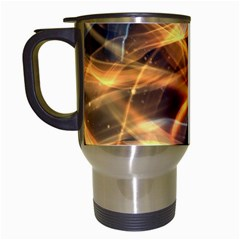 Abstract Shiny Night Lights 19 Travel Mugs (white) by tarastyle
