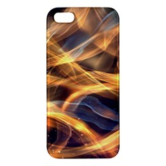 Abstract Shiny Night Lights 19 Apple Iphone 5 Premium Hardshell Case by tarastyle