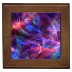 Abstract Shiny Night Lights 20 Framed Tiles by tarastyle