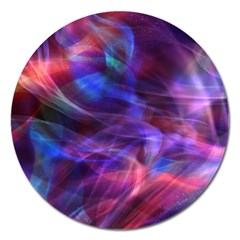 Abstract Shiny Night Lights 20 Magnet 5  (round) by tarastyle
