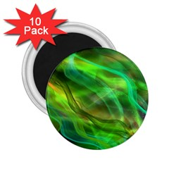 Abstract Shiny Night Lights 21 2 25  Magnets (10 Pack)