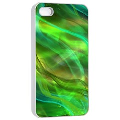 Abstract Shiny Night Lights 21 Apple Iphone 4/4s Seamless Case (white)