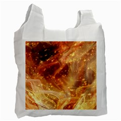 Abstract Shiny Night Lights 22 Recycle Bag (two Side)  by tarastyle