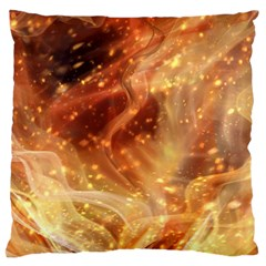 Abstract Shiny Night Lights 22 Large Flano Cushion Case (one Side) by tarastyle