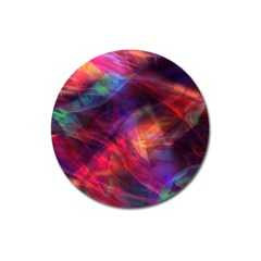 Abstract Shiny Night Lights 23 Magnet 3  (round)