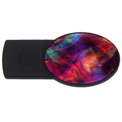 Abstract Shiny Night Lights 23 Usb Flash Drive Oval (2 Gb) by tarastyle