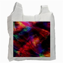 Abstract Shiny Night Lights 23 Recycle Bag (one Side) by tarastyle