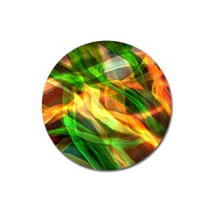 Abstract Shiny Night Lights 24 Magnet 3  (round) by tarastyle