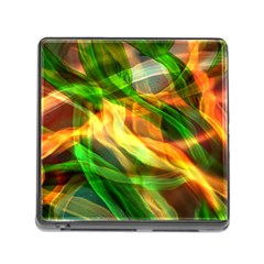 Abstract Shiny Night Lights 24 Memory Card Reader (square) by tarastyle